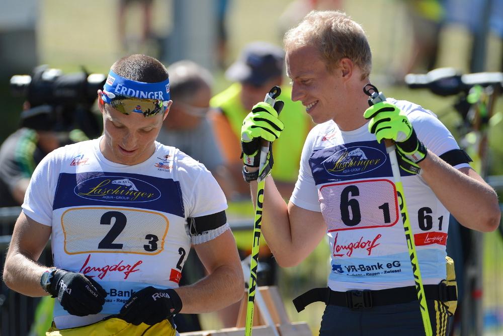 Daniel Böhm erik lesser und daniel böhm hohenzollern skistadion